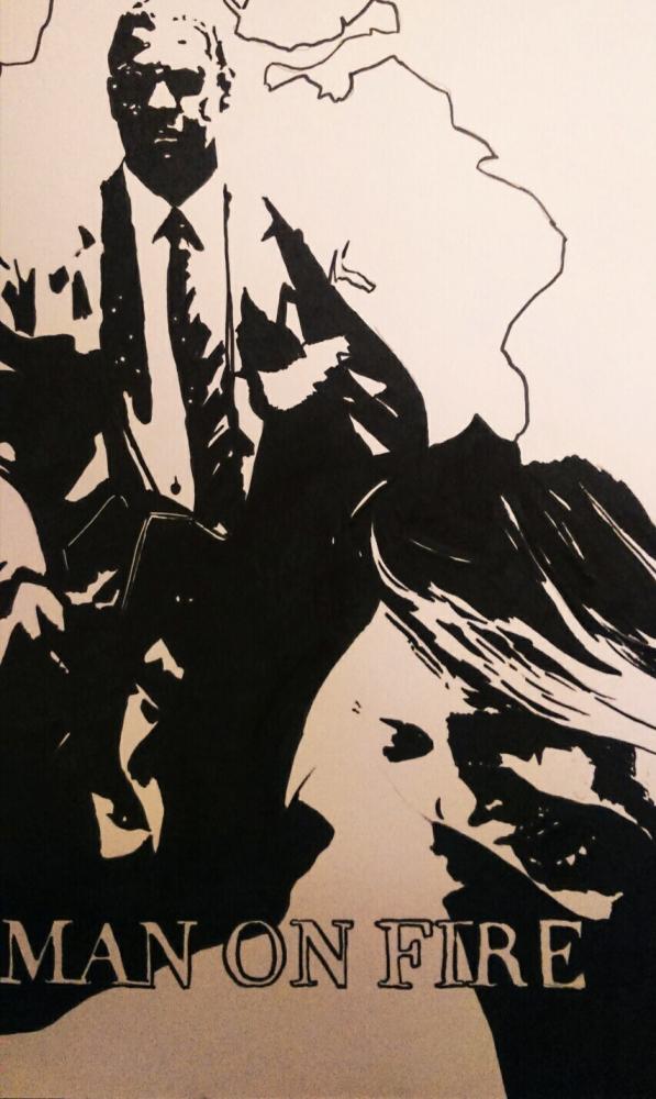 Denzel Washington, Dakota Fanning by judith2